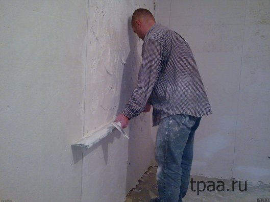 Выравнивание стен — методы, материалы
