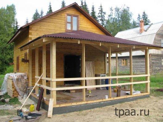 Особенности и преимущества деревянной пристройки