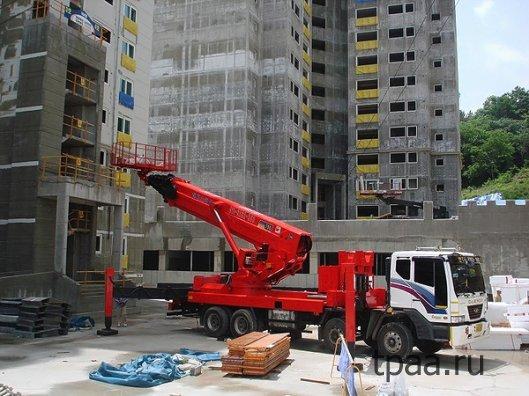 Особенности применения автовышек в строительстве