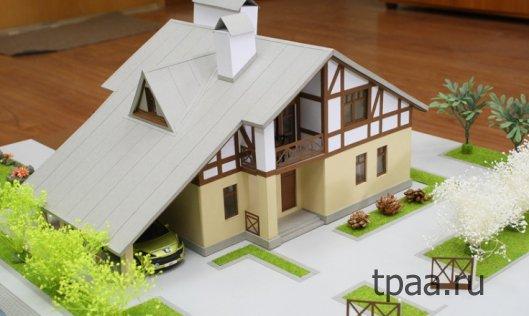 Изготовление макетов домов
