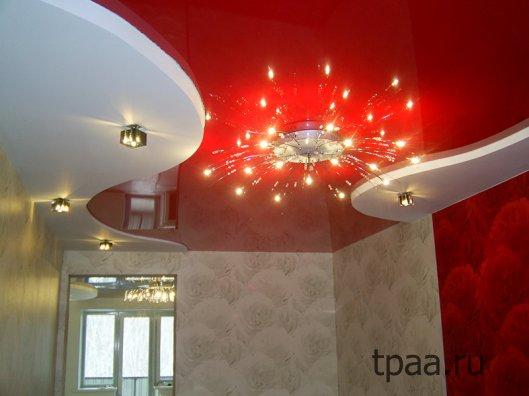 Люстры для натяжных потолков — чем они отличаются?