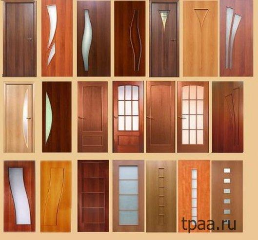 Варианты межкомнатных дверей: виды и материалы