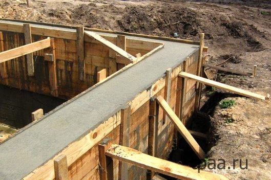 Рекомендации при строительстве фундамента.