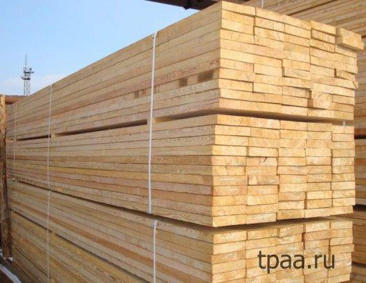 Обрезная доска – строительный материал № 1