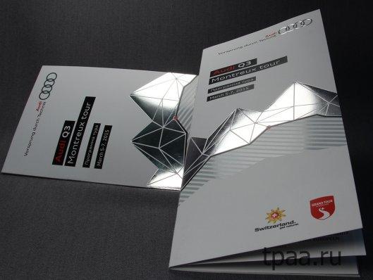 Брошюры для серьёзных организаций на эксклюзивной бумаге: с тиснением, дизайнерской, фактурной, тонированной