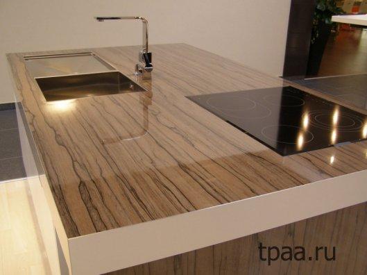 Столешница из ламинированной древесно — стружечной плиты