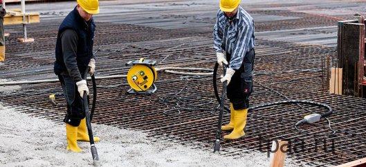Вибратор для бетона: понятие и конструкция