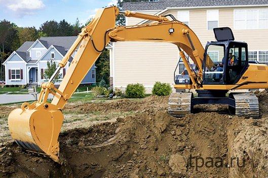 Какая техника используется при строительстве дома?