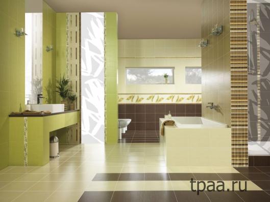Плитка для ванной: секреты выбора