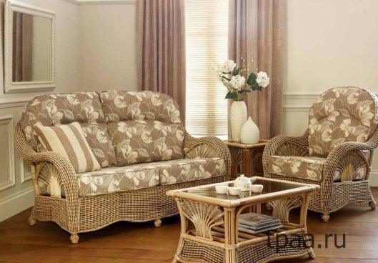 Применение ротанга в мебельной промышленности