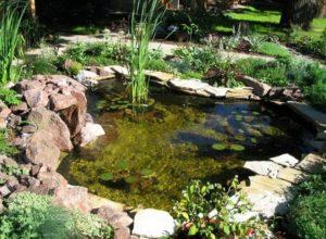 Лучшее украшение для дачи – искусственный пруд