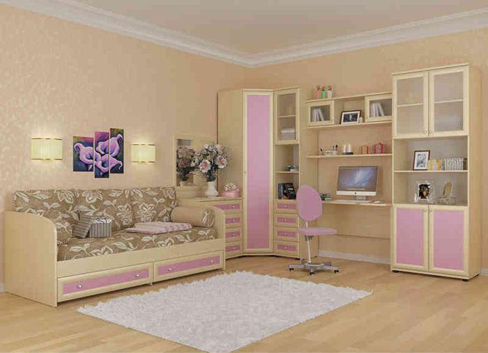 Как обставить комнату девочки-подростка