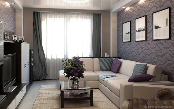 Основные принципы выбора обоев в гостиную