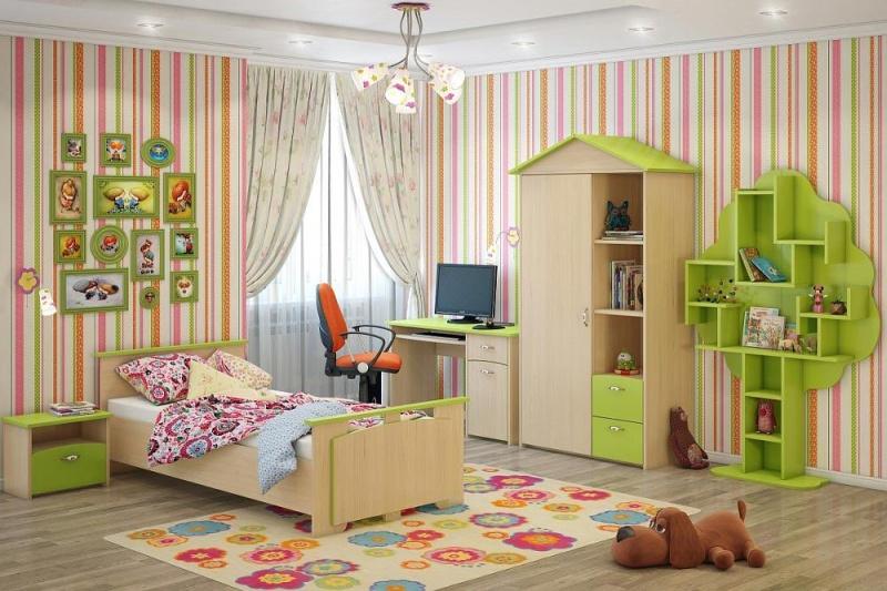 Покупка мебели для детской комнаты в интернет-магазине