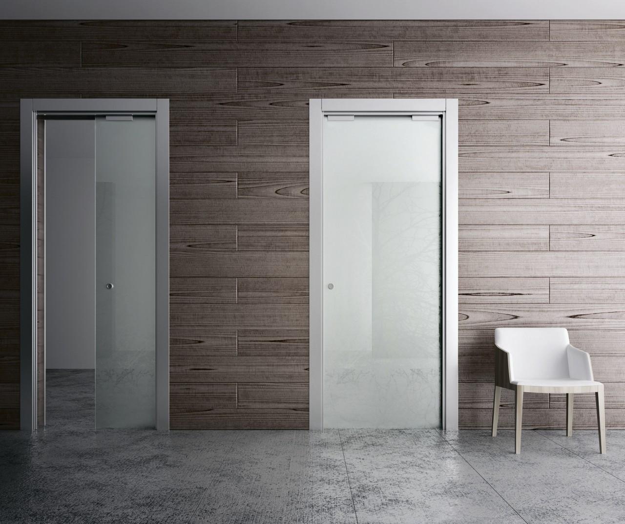 Преимущества дверей со скрытой коробкой.