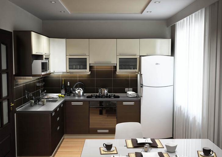 Особенности современного дизайна кухни