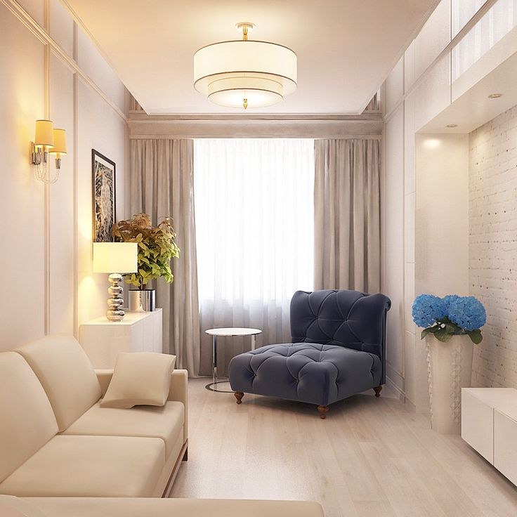 Мягкая мебель для небольшой гостиной
