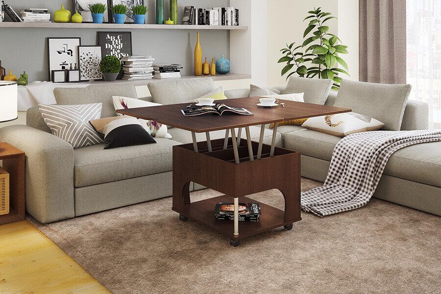 Мебель для гостиной комнаты: журнальные столики